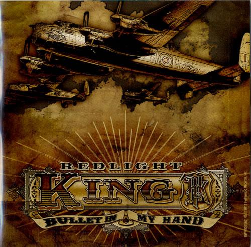 Redlight King Bullet In My Hand CD-R acetate UK R8ZCRBU600075