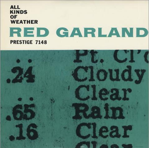 Red Garland All Kinds Of Weather vinyl LP album (LP record) US RG-LPAL361858