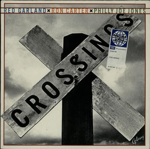 Red Garland Crossings vinyl LP album (LP record) German RG-LPCR627148