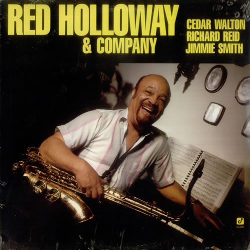 Red Holloway Red Holloway & Company vinyl LP album (LP record) US RHYLPRE544398