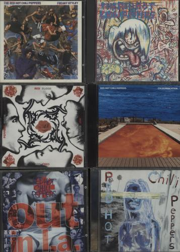 Red Hot Chili Peppers 1984-2003 Albums CD album (CDLP) UK RHCCDAL660688