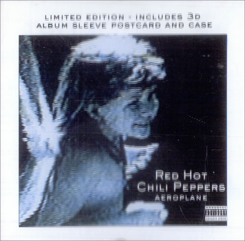 "Red Hot Chili Peppers Aeroplane - 3-D Sleeve CD single (CD5 / 5"") UK RHCC5AE60794"