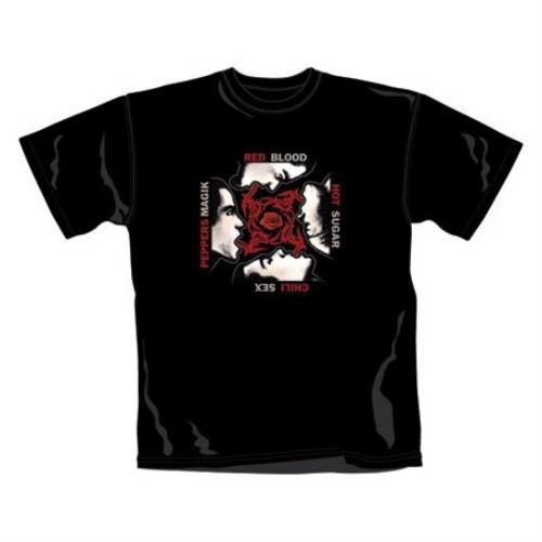 Red Hot Chili Peppers Blood Sugar Sex Magik T-Shirt - Large t-shirt UK RHCTSBL387599