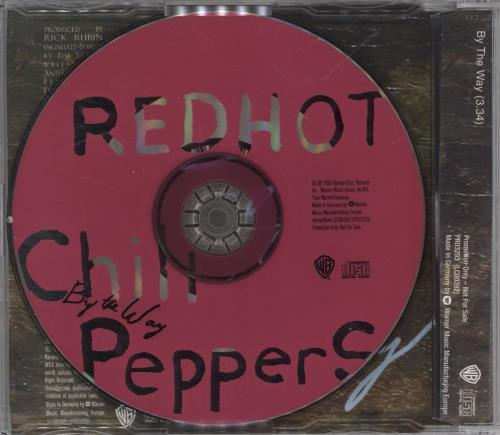"Red Hot Chili Peppers By The Way CD single (CD5 / 5"") German RHCC5BY217408"