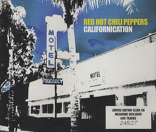 "Red Hot Chili Peppers Californication - CD1 CD single (CD5 / 5"") UK RHCC5CA247515"