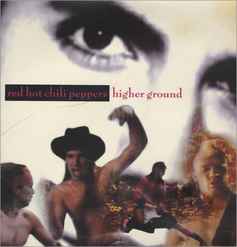"Red Hot Chili Peppers Higher Ground - Gatefold 12"" vinyl single (12 inch record / Maxi-single) UK RHC12HI08629"