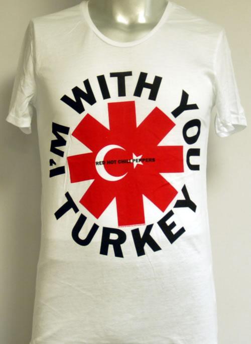 Red Hot Chili Peppers I'm With You Turkey - Medium t-shirt Turkish RHCTSIM613234