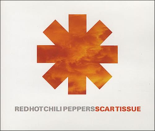 Red Hot Chili Peppers Scar Tissue UK Promo CD single (CD5