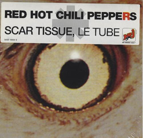 "Red Hot Chili Peppers Scar Tissue CD single (CD5 / 5"") German RHCC5SC282307"