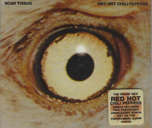 "Red Hot Chili Peppers Scar Tissue CD single (CD5 / 5"") UK RHCC5SC391862"