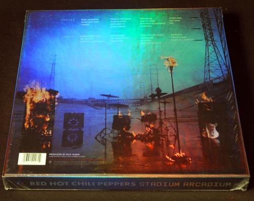 Red Hot Chili Peppers Stadium Arcadium - Deluxe Art - Sealed 4-LP vinyl album set (4 records) US RHC4LST457783