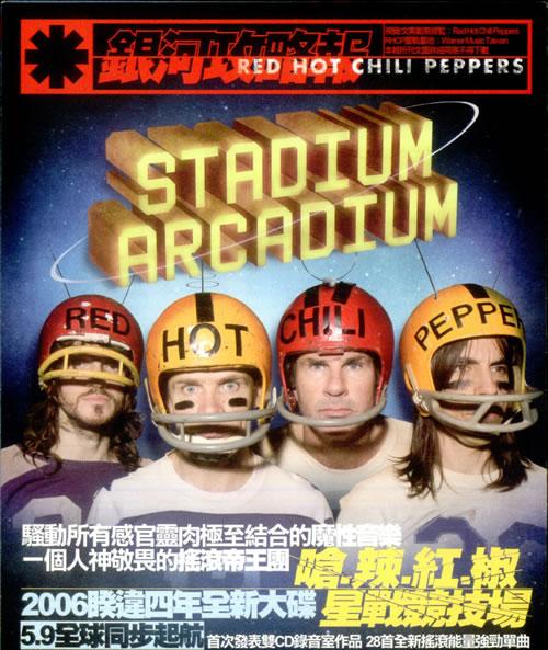 Red Hot Chili Peppers Stadium Arcadium handbill Taiwanese RHCHBST533727