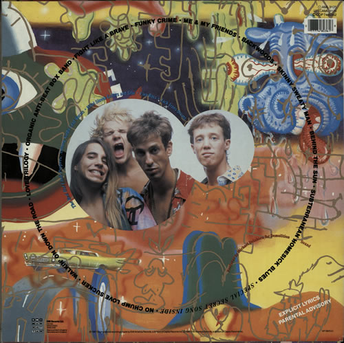 Red Hot Chili Peppers The Uplift Mofo Party Plan vinyl LP album (LP record) UK RHCLPTH263215