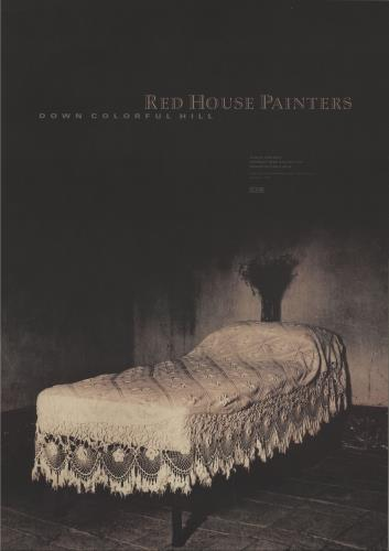 Red House Painters Down Colorful Hill poster UK RHSPODO681096