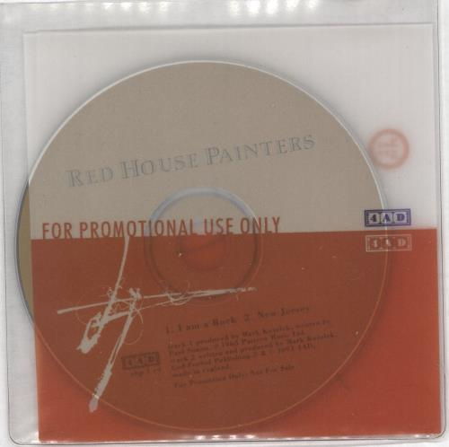 """Red House Painters I Am A Rock CD single (CD5 / 5"""") UK RHSC5IA166343"""