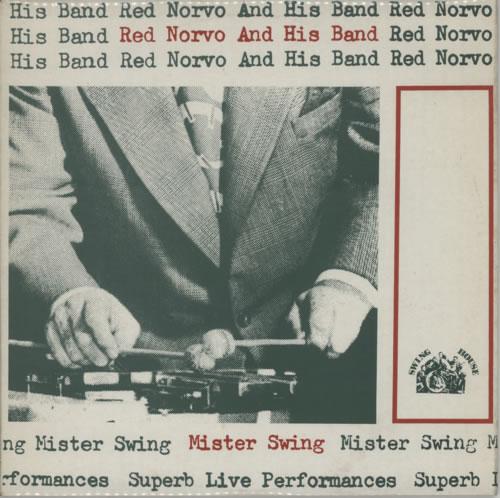 Red Norvo Mister Swing vinyl LP album (LP record) UK RN0LPMI617795