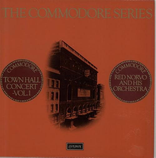 Red Norvo Town Hall Concert Volume 1 vinyl LP album (LP record) UK RN0LPTO641210