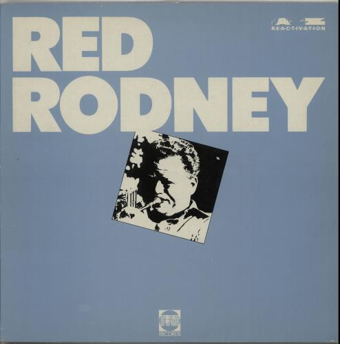 Red Rodney Red Rodney vinyl LP album (LP record) UK RR0LPRE651874