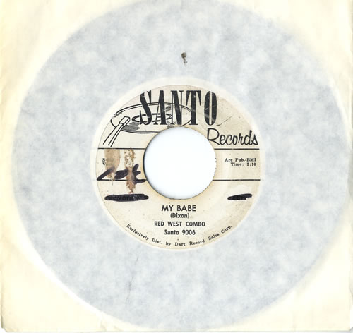 "Red West Combo My Babe 7"" vinyl single (7 inch record) US R6H07MY576295"