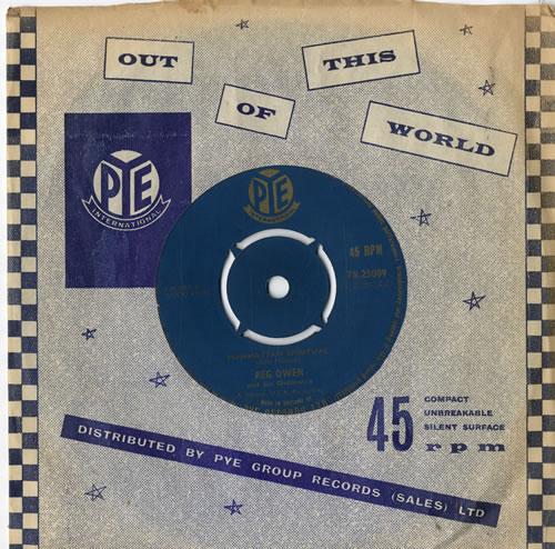 "Reg Owen Manhattan Spiritual 7"" vinyl single (7 inch record) UK RUV07MA504458"