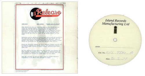 Remi Kabaka Kabaka Son Of Africa - White Label vinyl LP album (LP record) UK 0RKLPKA452123
