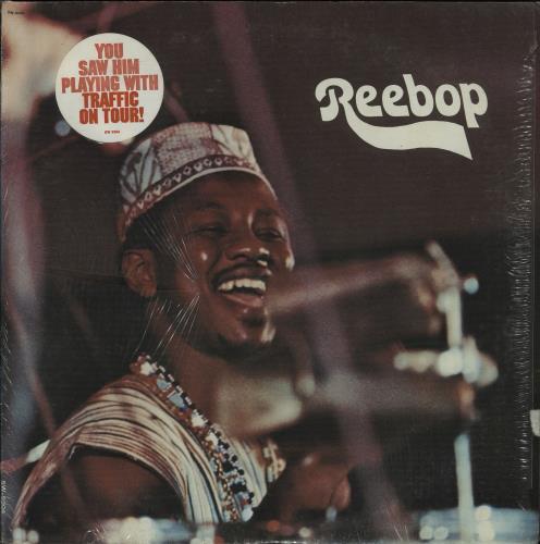 Remi Kabaka Reebop vinyl LP album (LP record) US 0RKLPRE657391
