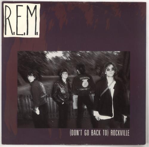 "REM (Don't Go Back To) Rockville - EX 12"" vinyl single (12 inch record / Maxi-single) UK REM12DO729020"