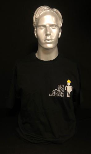 REM 2008 Athens Georgia Escenario - Crew T-Shirt t-shirt US REMTSAT729164