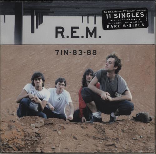 """REM 7IN-83-88 - Sealed 7"""" box set US REM7XIN656966"""