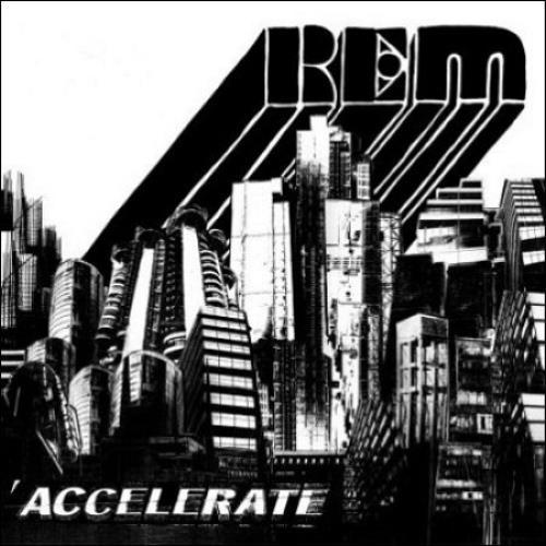 REM Accelerate CD album (CDLP) UK REMCDAC431112