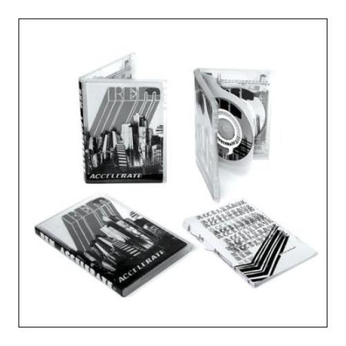 REM Accelerate 2-disc CD/DVD set UK REM2DAC431114