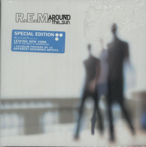 REM Around The Sun - Boxset CD album (CDLP) UK REMCDAR305233