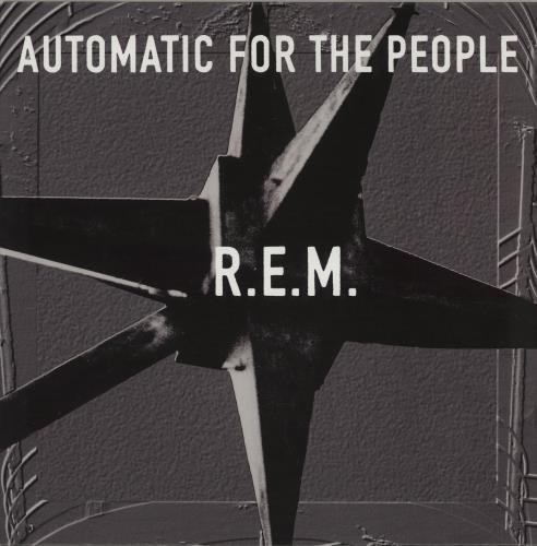 REM Automatic For The People - 180gm Vinyl vinyl LP album (LP record) UK REMLPAU757608