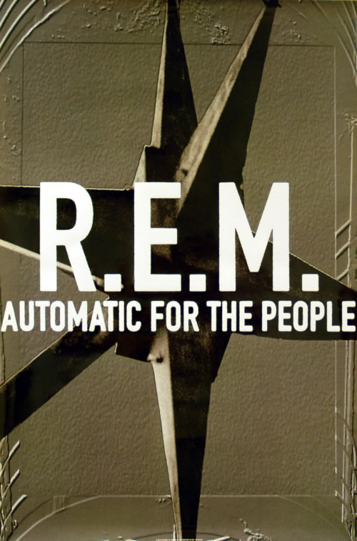 """REM Automatic For The People 24"""" x 36"""" poster US REMPOAU242508"""