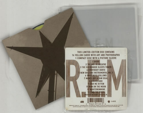 REM Automatic For The People CD Album Box Set US REMDXAU113380