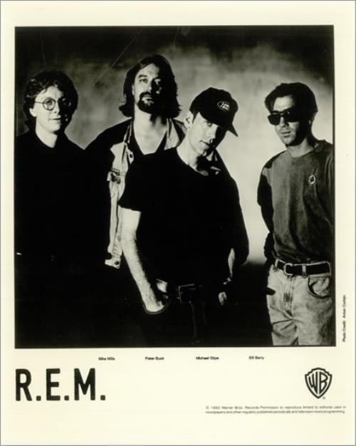 Automatic For The People 1992 Original Record Company Promo 24 x 36 R.E.M