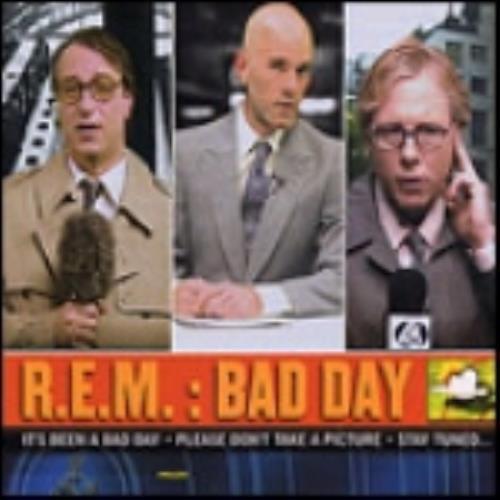 REM Bad Day 2-CD single set (Double CD single) UK REM2SBA259644
