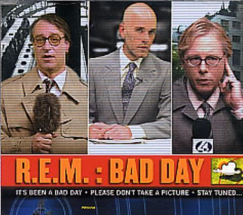 "REM Bad Day CD single (CD5 / 5"") German REMC5BA259799"