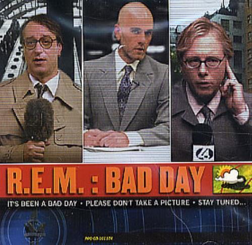 "REM Bad Day CD single (CD5 / 5"") US REMC5BA260095"