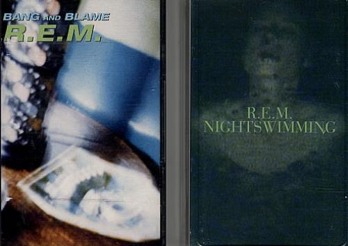 REM Collection Of 4 Cassette Singles cassette single UK REMCSCO306234