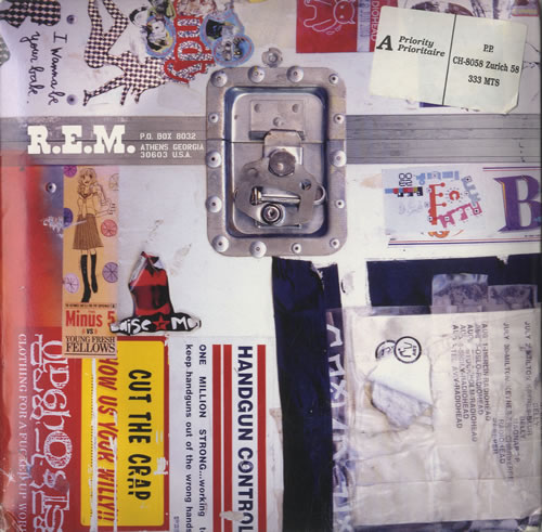 "REM Country Feedback - Fan Club Pack 2003 CD single (CD5 / 5"") US REMC5CO324435"