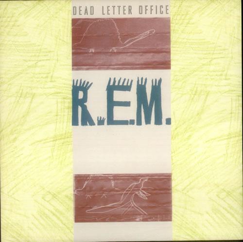 REM Dead Letter Office vinyl LP album (LP record) Dutch REMLPDE172897