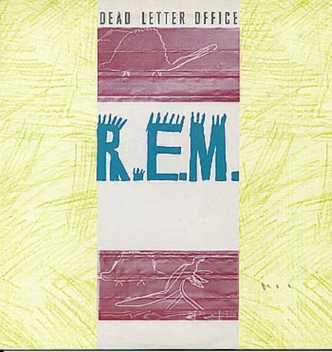 REM Dead Letter Office vinyl LP album (LP record) UK REMLPDE257119