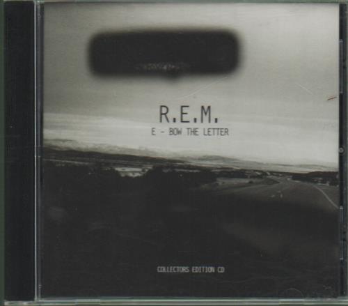 """REM E-bow The Letter CD single (CD5 / 5"""") UK REMC5EB70936"""