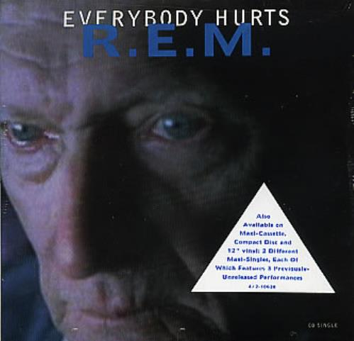 Rem Everybody Hurts Us Cd Single Cd5 5 Quot 297063