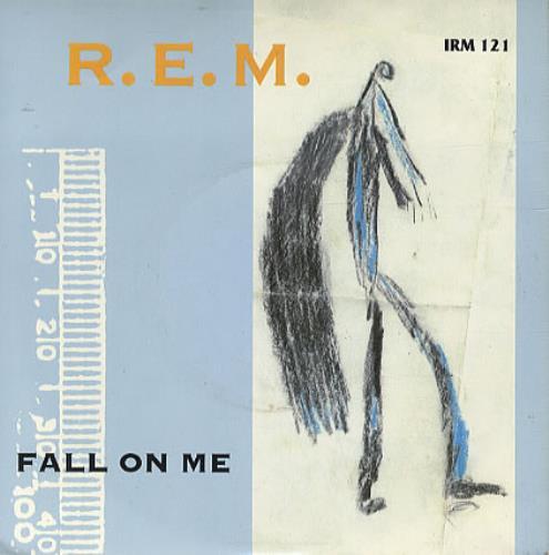 """REM Fall On Me 7"""" vinyl single (7 inch record) UK REM07FA108569"""