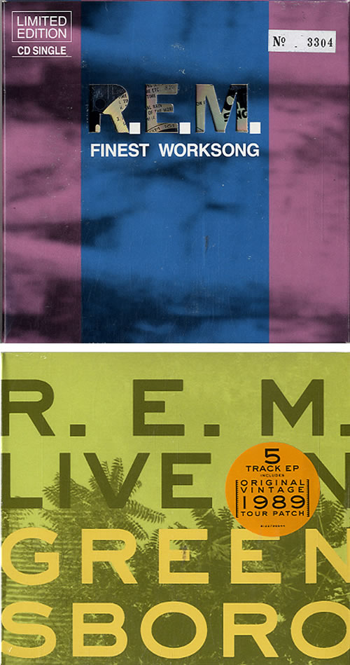 REM Fan Pack Bundle memorabilia UK REMMMFA610298