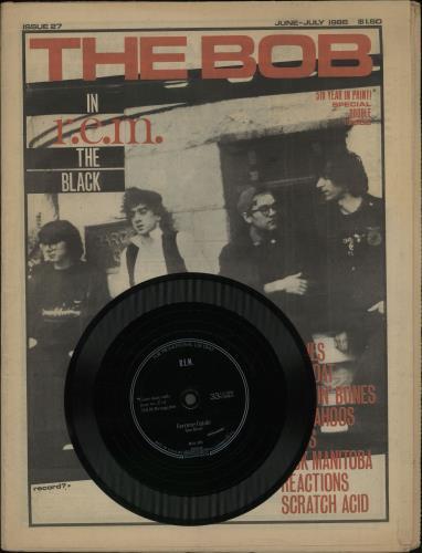 "REM Femme Fatale - black Flexi + Mag 7"" vinyl single (7 inch record) US REM07FE65017"