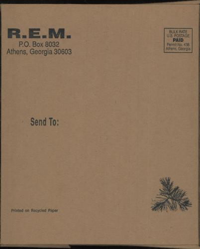 "REM Ghost Reindeer 7"" vinyl single (7 inch record) US REM07GH746251"