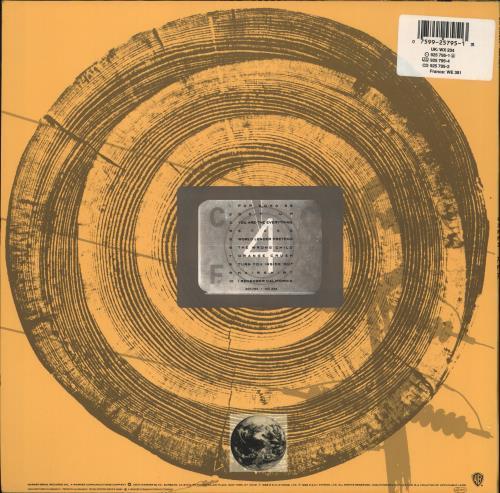 REM Green - Back Sticker vinyl LP album (LP record) UK REMLPGR730917